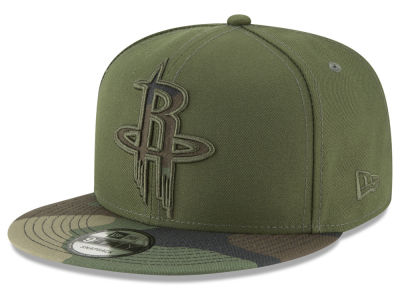 Houston Rockets New Era NBA Operation Camo 9FIFTY Snapback Cap