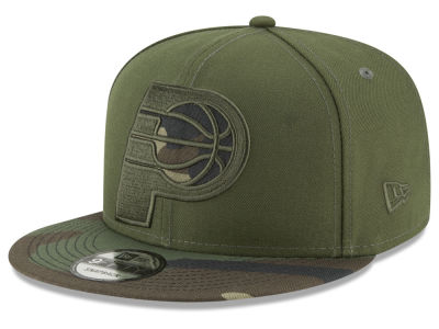 Indiana Pacers New Era NBA Operation Camo 9FIFTY Snapback Cap
