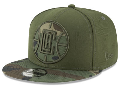 Los Angeles Clippers New Era NBA Operation Camo 9FIFTY Snapback Cap