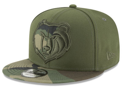 Memphis Grizzlies New Era NBA Operation Camo 9FIFTY Snapback Cap