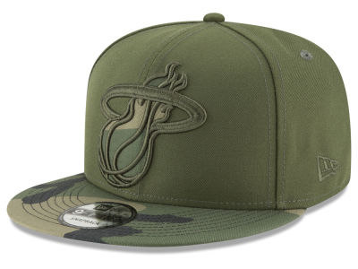 Miami Heat New Era NBA Operation Camo 9FIFTY Snapback Cap