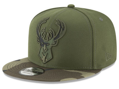 Milwaukee Bucks New Era NBA Operation Camo 9FIFTY Snapback Cap