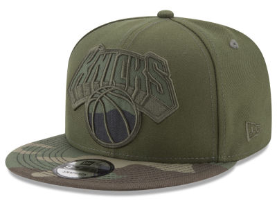 New York Knicks New Era NBA Operation Camo 9FIFTY Snapback Cap