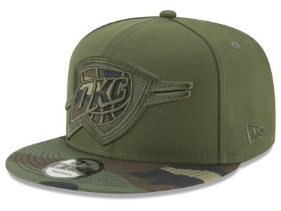 Oklahoma City Thunder New Era NBA Operation Camo 9FIFTY Snapback Cap