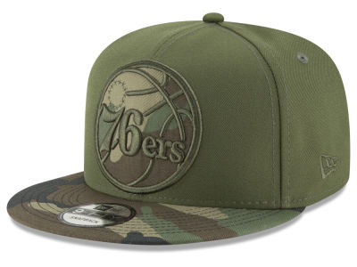 Philadelphia 76ers New Era NBA Operation Camo 9FIFTY Snapback Cap