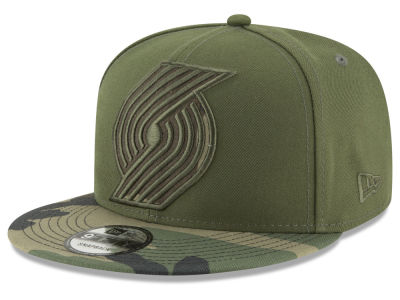 Portland Trail Blazers New Era NBA Operation Camo 9FIFTY Snapback Cap