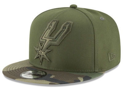 San Antonio Spurs New Era NBA Operation Camo 9FIFTY Snapback Cap