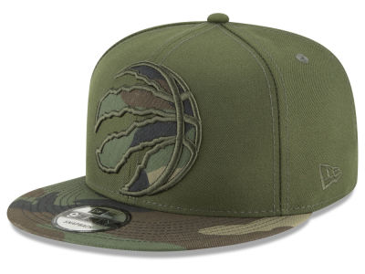 Toronto Raptors New Era NBA Operation Camo 9FIFTY Snapback Cap