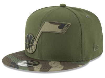 Utah Jazz New Era NBA Operation Camo 9FIFTY Snapback Cap