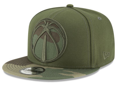 Washington Wizards New Era NBA Operation Camo 9FIFTY Snapback Cap