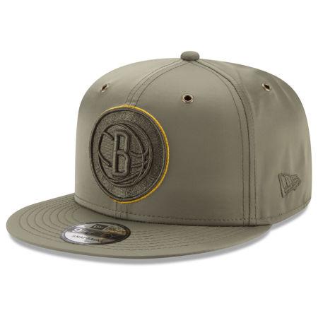 Brooklyn Nets New Era NBA Full Satin 9FIFTY Snapback Cap