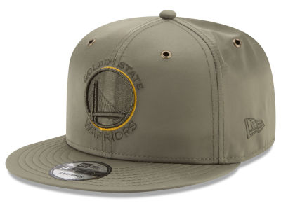 Golden State Warriors New Era NBA Full Satin 9FIFTY Snapback Cap