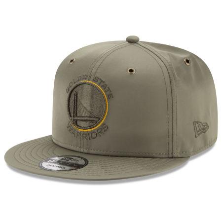 Golden State Warriors New Era NBA Full Satin 9FIFTY Snapback Cap