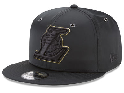 Los Angeles Lakers New Era NBA Full Satin 9FIFTY Snapback Cap
