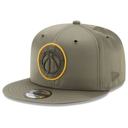 Washington Wizards New Era NBA Full Satin 9FIFTY Snapback Cap