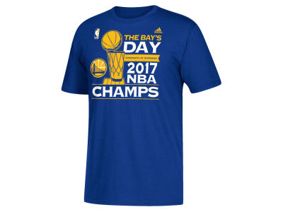 Golden State Warriors adidas 2017 NBA Men's Finals Parade Locker Room T-Shirt