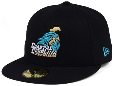 Coastal Carolina Chanticleers New Era NCAA Shadow 59FIFTY Cap