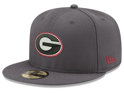 Georgia Bulldogs New Era NCAA Shadow 59FIFTY Cap