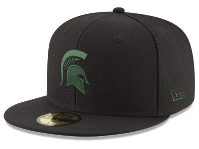 Michigan State Spartans New Era NCAA Shadow 59FIFTY Cap