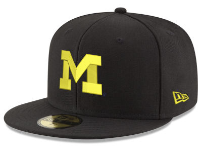 Michigan Wolverines New Era NCAA Shadow 59FIFTY Cap