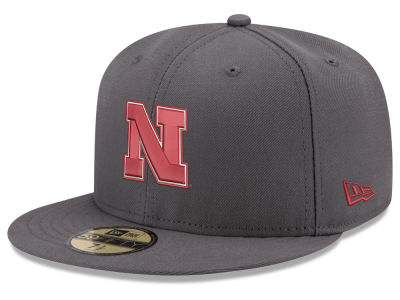 Nebraska Cornhuskers New Era NCAA Shadow 59FIFTY Cap