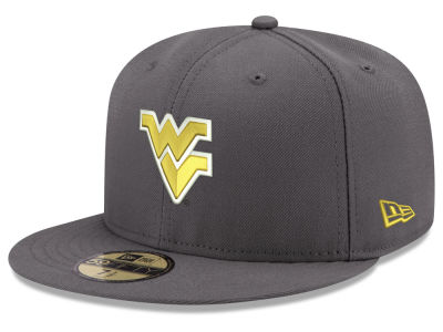 West Virginia Mountaineers New Era NCAA Shadow 59FIFTY Cap