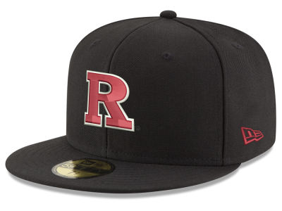 Rutgers Scarlet Knights New Era NCAA Shadow 59FIFTY Cap