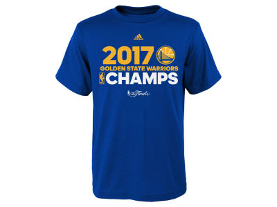 Golden State Warriors 2017 NBA Youth Champ Roster T-Shirt