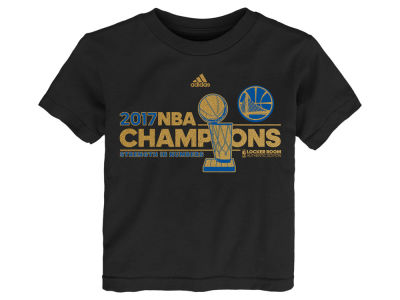 Golden State Warriors 2017 NBA Toddler Champ Locker Room T-Shirt