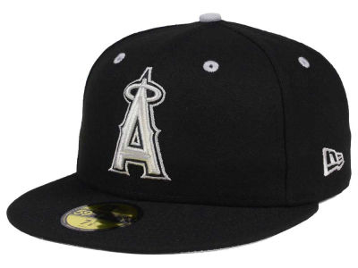 Los Angeles Angels New Era MLB Black Series 59FIFTY Cap