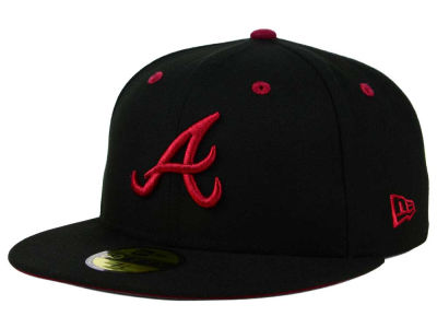 Atlanta Braves New Era MLB Black Series 59FIFTY Cap