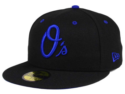Baltimore Orioles New Era MLB Black Series 59FIFTY Cap