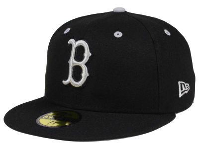 Boston Red Sox New Era MLB Black Series 59FIFTY Cap