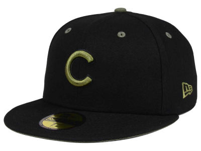 Chicago Cubs New Era MLB Black Series 59FIFTY Cap