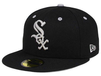 Chicago White Sox New Era MLB Black Series 59FIFTY Cap