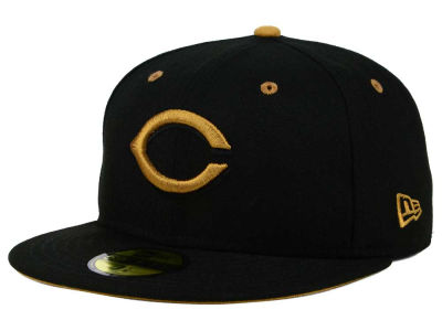 Cincinnati Reds New Era MLB Black Series 59FIFTY Cap