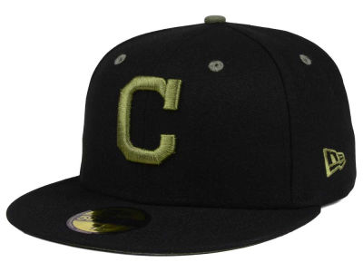 Cleveland Indians New Era MLB Black Series 59FIFTY Cap