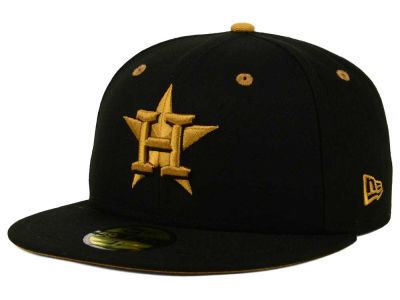 Houston Astros New Era MLB Black Series 59FIFTY Cap