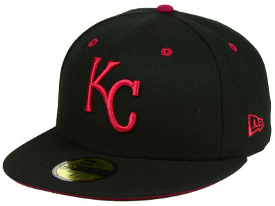 Kansas City Royals New Era MLB Black Series 59FIFTY Cap