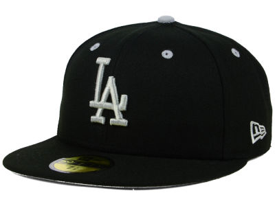 Los Angeles Dodgers New Era MLB Black Series 59FIFTY Cap