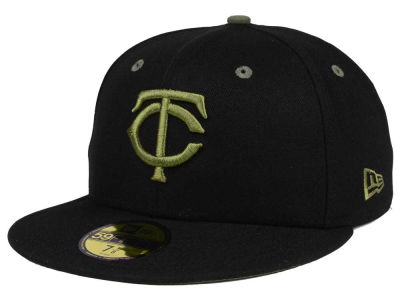 Minnesota Twins New Era MLB Black Series 59FIFTY Cap