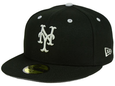 New York Mets New Era MLB Black Series 59FIFTY Cap
