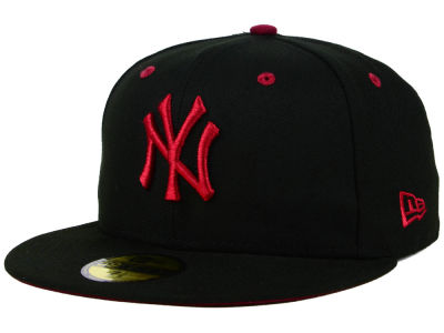 New York Yankees New Era MLB Black Series 59FIFTY Cap