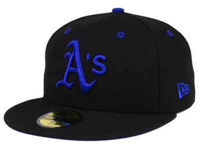 Oakland Athletics New Era MLB Black Series 59FIFTY Cap