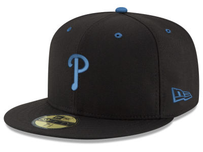 Philadelphia Phillies New Era MLB Black Series 59FIFTY Cap