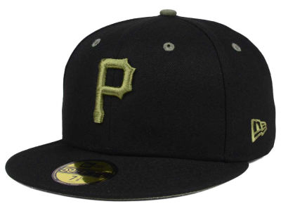 Pittsburgh Pirates New Era MLB Black Series 59FIFTY Cap