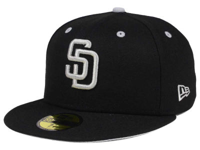 San Diego Padres New Era MLB Black Series 59FIFTY Cap