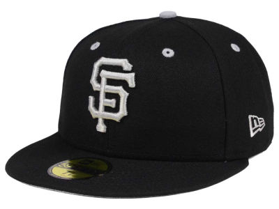 San Francisco Giants New Era MLB Black Series 59FIFTY Cap