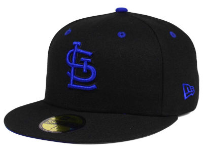 St. Louis Cardinals New Era MLB Black Series 59FIFTY Cap