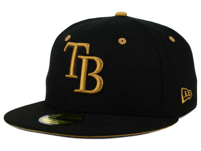 Tampa Bay Rays New Era MLB Black Series 59FIFTY Cap